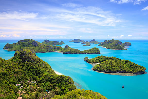 A Week Island-Hopping in the Gulf of Thailand