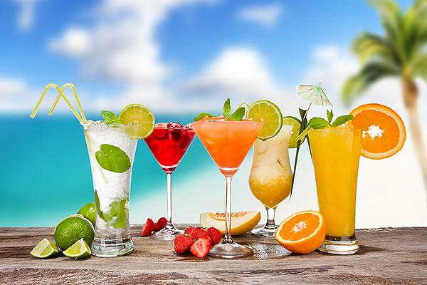 cocktails on the beach phuket