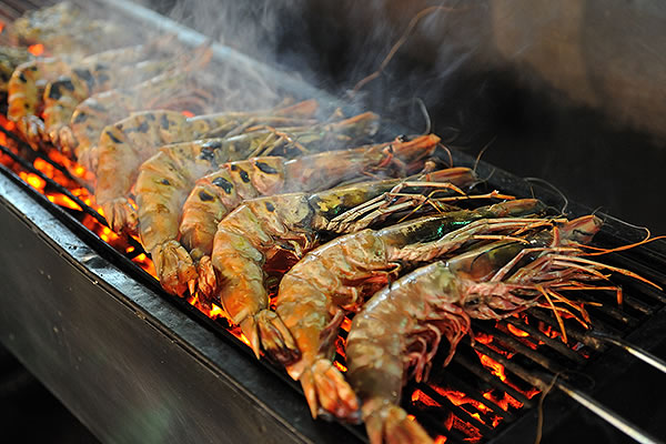 freshly grilled seafood hua -hin