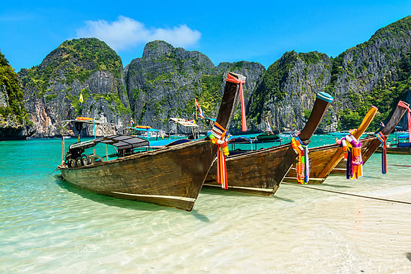 Island Hopping with a week on Koh Phi Phi