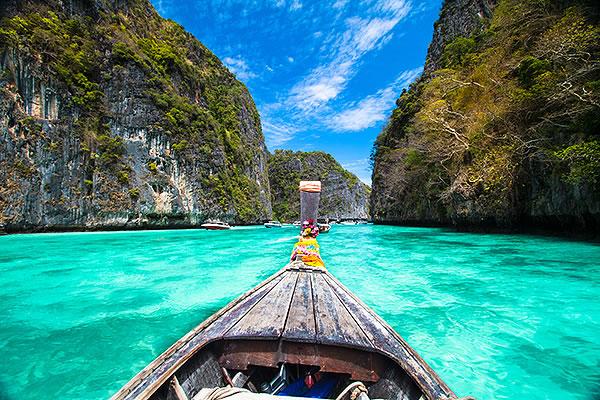 the lagoon koh phi phi don
