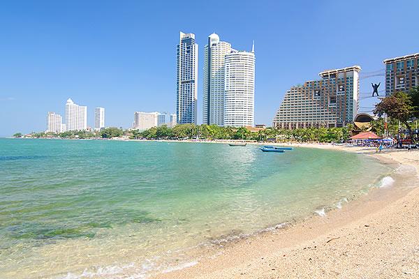 wongamart beach pattaya