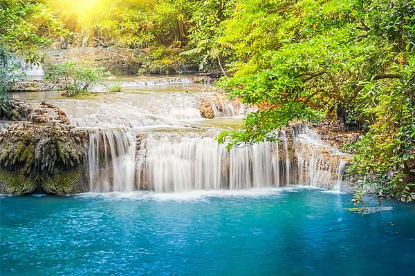 Erawan falls, 3rd tier