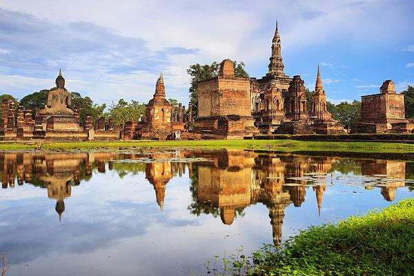 Sukhothai Historical Park; Daytime