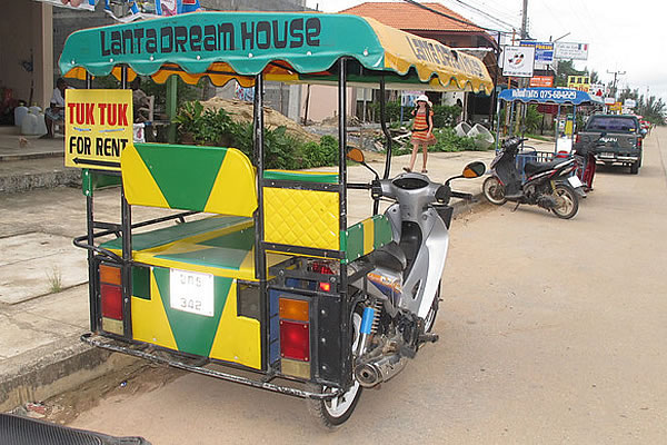 Tuk Tuk for hire