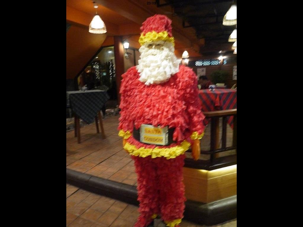 condom father christmas cabbages condoms bangkok santa - Christmas Condoms