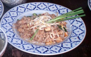 pad thai recipe noodles chicken prawn